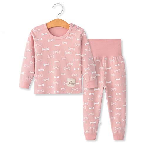 YANWANG 100% Cotone delle Ragazze dei Neonati Pajamas Set Manica Lunga Sleepwear...