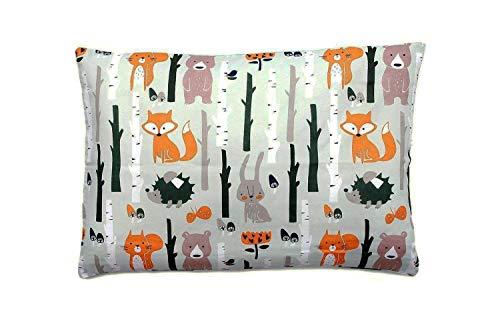 Federa per cuscino di 40cm x 60cm, 100% cotone, multicolor, realizzata in cotone, 100%...