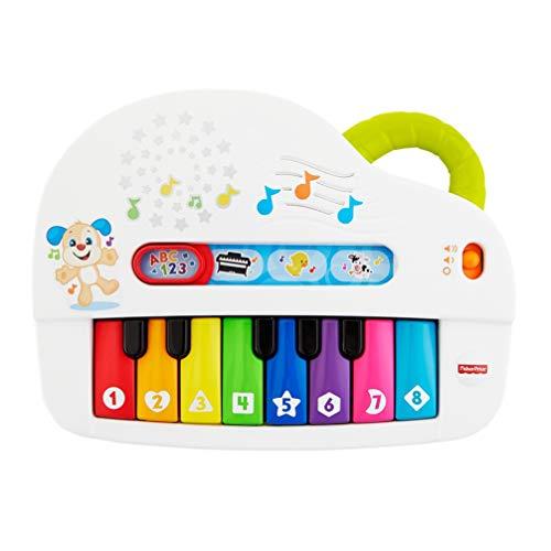 Fisher-Price Pianoforte di Cagnolino, Gioco Musicale con Luci e Suoni, Versione Italiana,...
