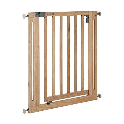 Safety 1st Easy Close Wood Cancelletto Sicurezza per Bambini/Cani si Fissa a Pressione...