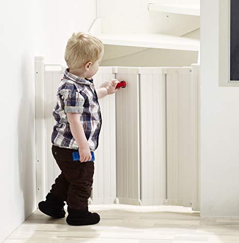 Baby Dan 60214-5400-12 Guard Me Cancelletto, Bianco