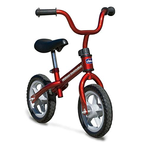Chicco Bicicletta Bambini Senza Pedali 2-5 Anni First Bike Red Bullet, Bici Senza Pedali...