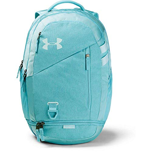Under Armour Hustle 4.0 Backpack, Zaino Unisex-Adulto, Blue Haze (425)/Rift Blue, Taglia...