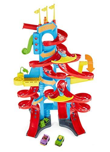 Fisher-Price FXK59 - Little People - Pista per bambini con suoni e 2 personaggi di gioco,...