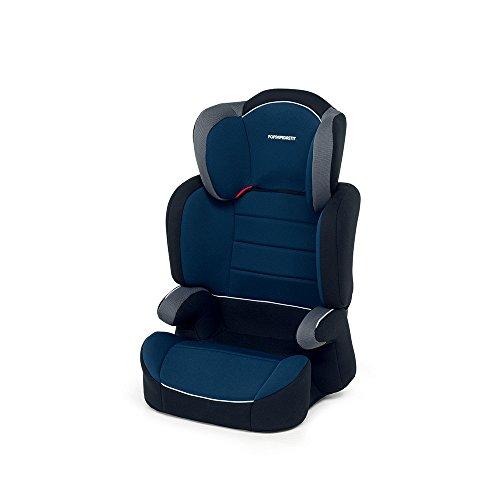 Foppapedretti Clever Seggiolino Auto, Classic Blu, Gruppo 2-3 (15-36 Kg) per bambini da 3...