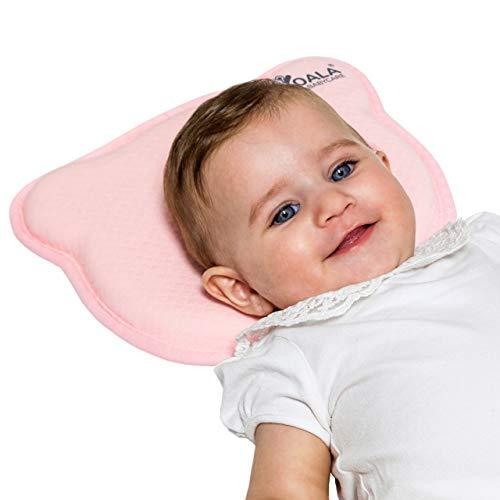 Koala Babycare® Cuscino Neonato Plagiocefalia Sfoderabile (con due Federe) per la...