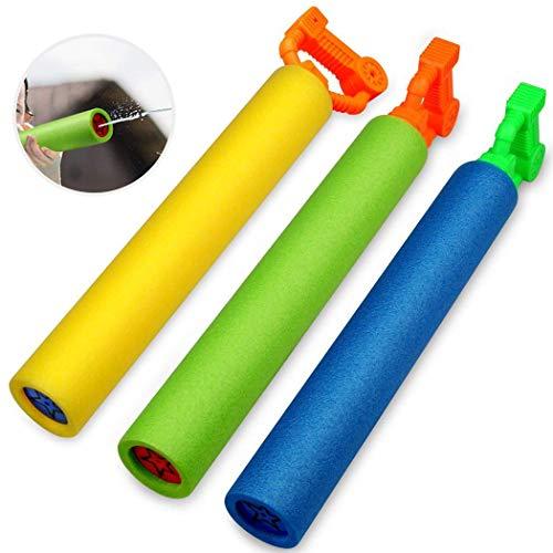 Carsge Pistola ad Acqua per Bambini con Giochi d'Acqua a spruzzo d'Estate Accessori