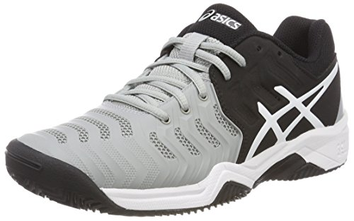 ASICS Gel-Resolution 7 Clay GS, Scarpe da Tennis Bambino, Multicolore (Mid...