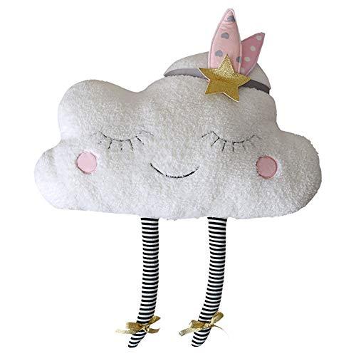 Runfon Adorabile Nuvola Cuscino Cuscini Cuscino dei Bambini Cuscino Sveglio della Peluche...