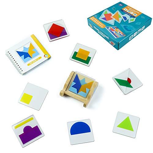 Gioco Educativo da Tavolo per Bambini 100 Modelli di Gioco di Impilamento Giocattolo...