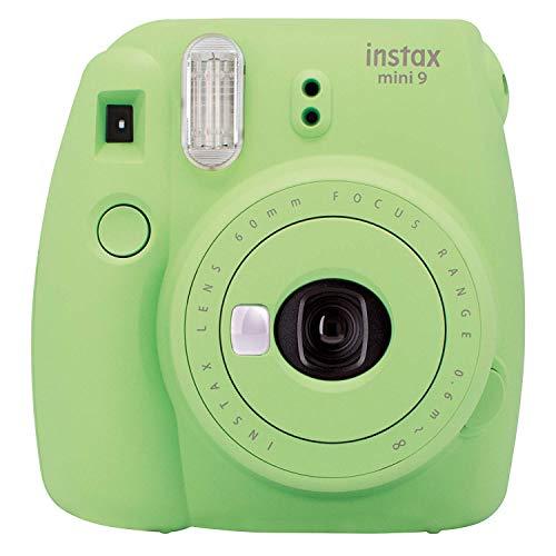 Fujifilm Instax Mini 9 Lime Green Fotocamera Istantanea per Foto Formato 62x46 mm, Verde