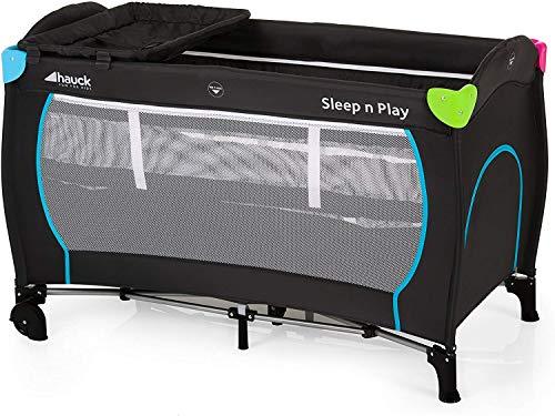 Hauck Sleep N Play Center Lettino da Viaggio, Incluso Secondo Piano per Neonati,...