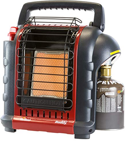 Mr. Heater Portable Buddy Riscaldamento a Gas Incluso Adattatore per bombole di Gas con...
