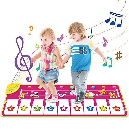 Vimzone Tappetino da Ballo per Pianoforte, Gioco Musicale per Bambini Tappetino per...