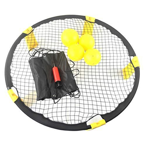 Pallavolo Spike Battle Ball Kit 4 Palline Standard, Spike Battle Ball Set da Gioco Bounce...