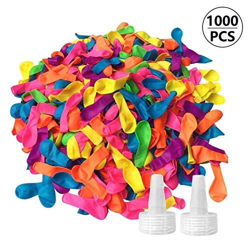 Funny House 1000 Palloncini d'Acqua, Water Balloons Colorato Bombe da Acqua Palloncini...