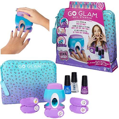 Cool Maker Go Glam Nail Stamper Salone da Manicure con 5 Motivi per Decorare, 125 Unghie,...