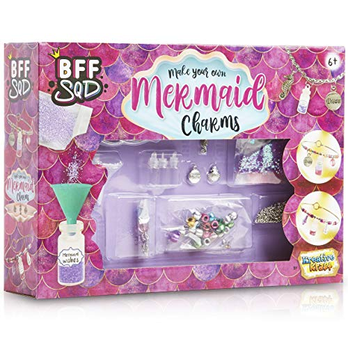 KreativeKraft Kit Gioielli Fai Da Te Con Perline Per Braccialetti Bambini, Bigiotteria Fai...