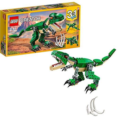 LEGO- Creator Tirannosauro 3 in 1 Set di Costruzioni per Creare Tre Diversi Dinosauri per...
