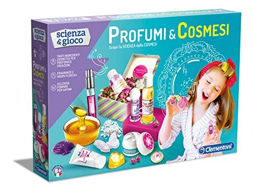 Clementoni- Profumi e cosmesi Scienza e Gioco, Multicolore, 13959