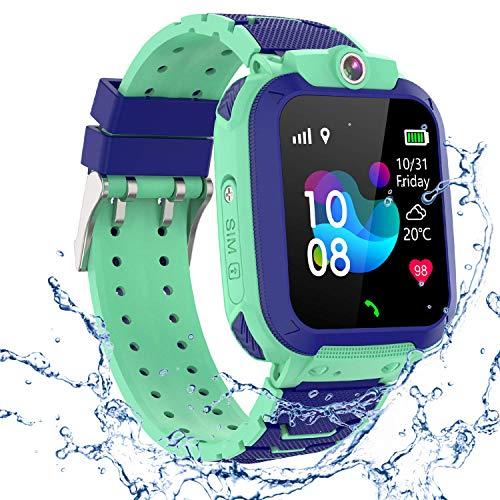 GPS Smartwatch Impermeabile per Ragazzi Ragazze, Orologio Intelligente Telefono con GPS...