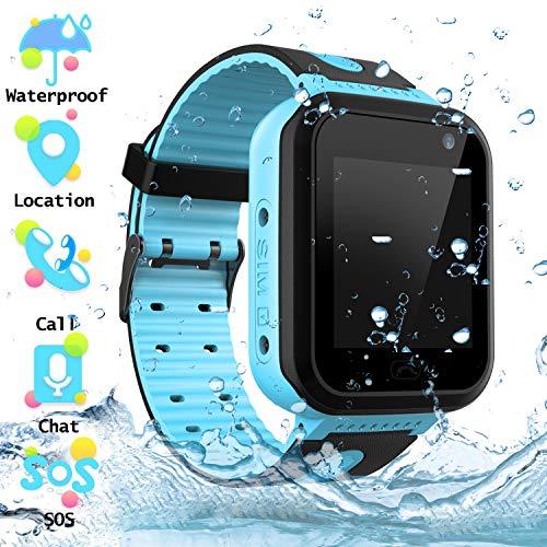Orologio Smart Phone da Impermeabile per Studenti, Ragazzi e Ragazze Orologio Touch Screen...
