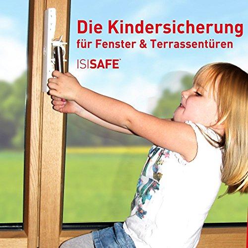 ISI Safe Sicurezza bambini per finestre, senza necessità di forare