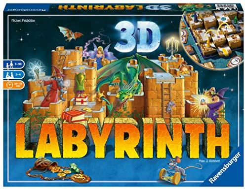 Ravensburger 26113 Labirinto 3D, Versione Italiana, Gioco da Tavolo per Bambini ed Adulti,...