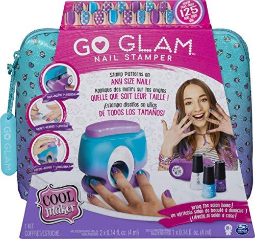 Cool Maker Go Glam Nail Stamper, Salone da Manicure con 5 Motivi per Decorare 125 unghie