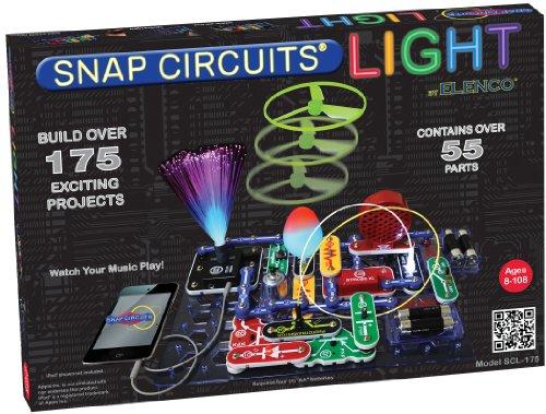 Snap Circuits, Kit per Imparare i circuiti elettrici, Luminoso