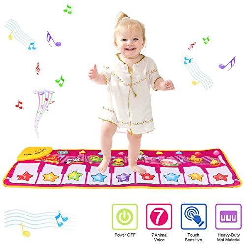 PROACC Tappetino per Pianoforte, Giocattolo per Tappetino per Pianoforte per Bambini,...
