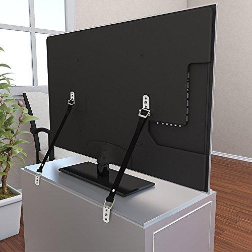 Wommty 2pcs TV e mobili anti-tip cinghie da polso resistente e parti in metallo | Tutti...