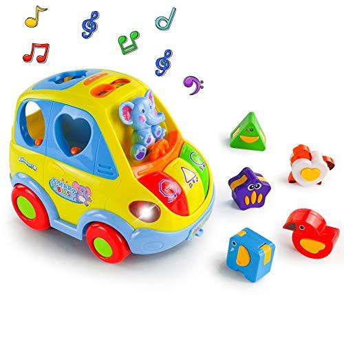 Giocattolo Musicale Auto per Bambini Giocattoli Educativi Elettronico di attività Gioco...