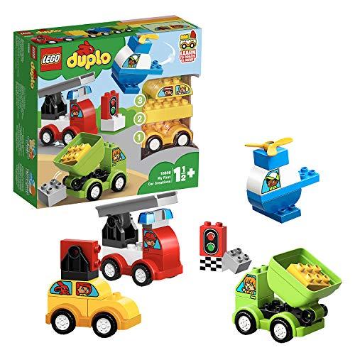 LEGO Duplo My First, i Miei Primi Veicoli Set di Costruzioni per Giocare e Costruire Tanti...