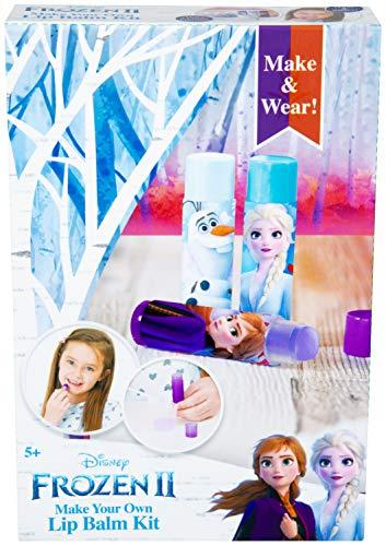 Disney Kit Burrocacao Fai da Te per Bambini con Anna, Elsa, Olaf, Kit Creativo Completo...