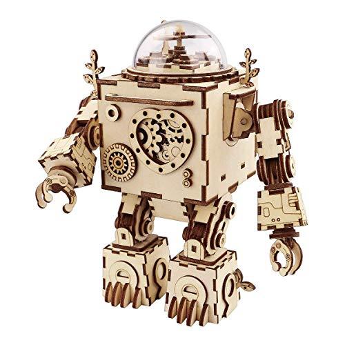 Think Gizmos Kit Robot Musicale TG714 - Kit Robot da Ricostruire con Effetti Musicali per...