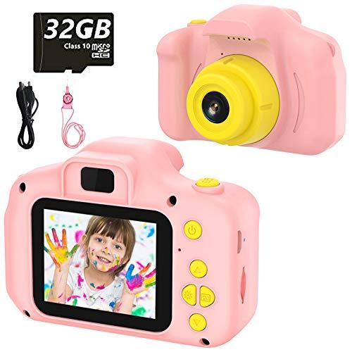 vatenick Fotocamera per Bambini Giocattolo Videocamera Digitale per Bambini Giocattolo per...