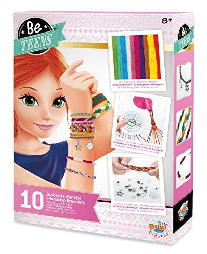 Buki France- Be Teens Braccialetti dell'Amicizia, Multicolore, BE102