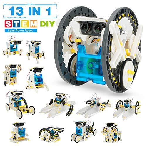 Robot Giocattolo Bambini -Robot Solare 13 In 1 -Costruzioni Per Bambini Adulti -Giochi...