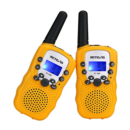 Retevis RT388 Walkie Talkie Bambini, Walky Talky Bambini , PMR446 8 Canali VOX Torcia 10...