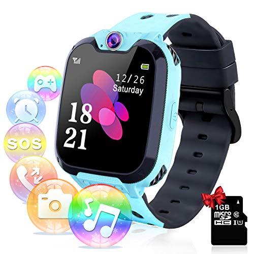 Smartwatch per Bambini con Lettore Musicale - Gioco Puzzle Telefono SOS Smart Watch con...
