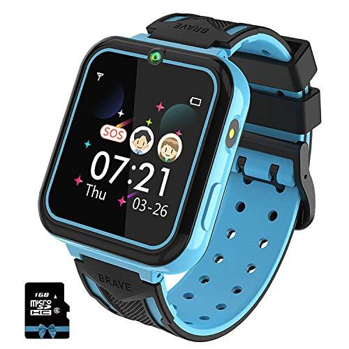 Smartwatch Bambini,Orologio Intelligente per Bambini con Lettore Musicale, SOS,...