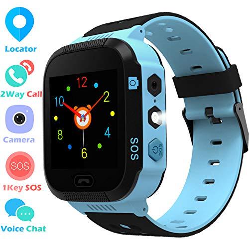 Kids Smartwatch with MP3 Music Player – Boys Girls Smart Watch 2 Way Phone Call,...
