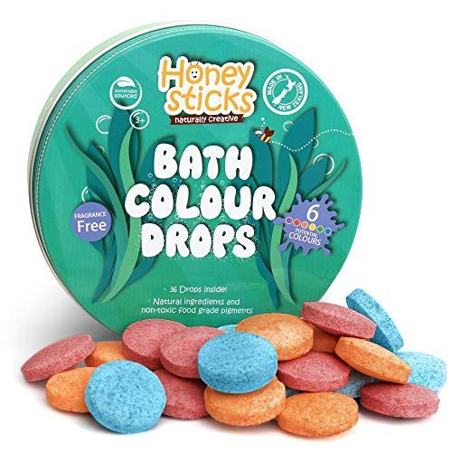 Honeysticks Gocce da Bagno Naturali per Bambini - Ingredienti per Uso Alimentare e...