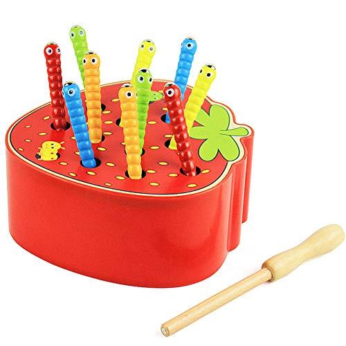 Felly Puzzle Legno Bambini 1 2 3 Anni, Montessori Giochi per Bambina Bimbo 1 Anno,...