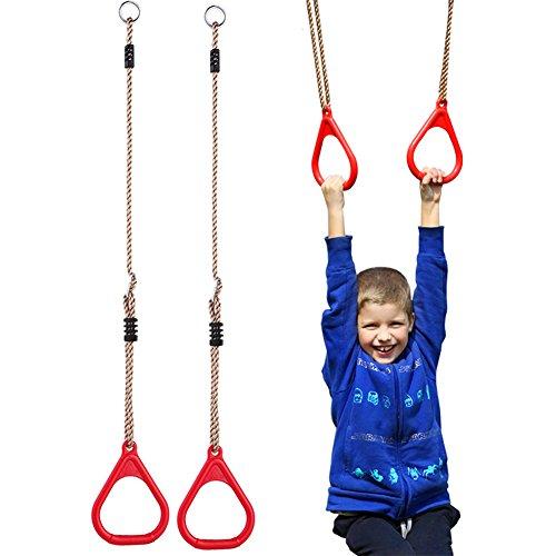 Yifeiku Co.Ltd, Kids Trapeze bar Pull Up palestra anelli Playground Home altalene...