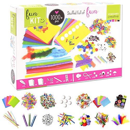 Vaessen Creative Kit per Hobby Creativi per Bambini, 32 x 22 x 6.5 cm