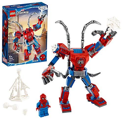LEGO Super Heroes Il Mech di Spider-Man Set di Costruzioni per Bambini, con la Minifigure...