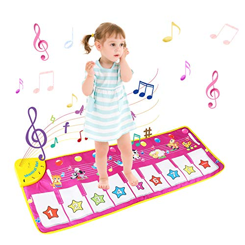 Tappeto Musicale Bambini, BelleStyle Bambino Piano Playmat Strumento Musicale Tocca la...
