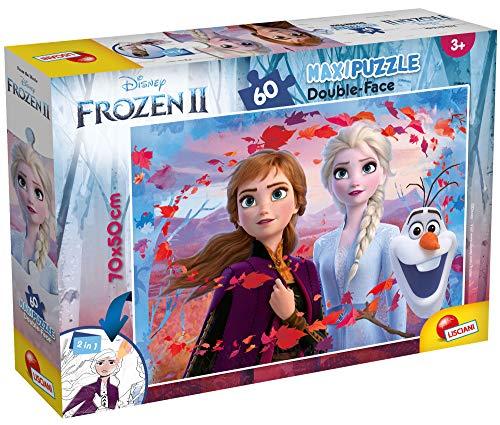 Lisciani Giochi DF Disney Puzzle Supermaxi 60, Frozen 2, 72286
